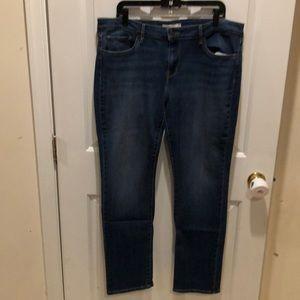 NWOT Women's 34 Levi's 712 Slim Jeans